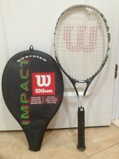 """Wilson Impact Oversize L2 Tennis Racquet w/ Soft Shock Grip 4 1/4"""" and Cover"""
