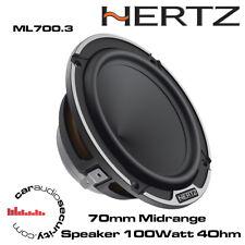 Hertz Mille Legend ML700.3 70 mm Altavoz de rango medio 100 W 4Ohm