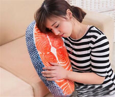 Japan Food Salmon Sushi Plush Pillow Cushion Doll Toy Gift Home Office Decor New