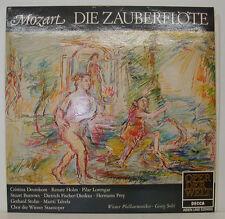 MOZART DIE ZAUBERFLÖTE DEUTEKOM HOLM LORENGAR BURROWS PREY GEORG SOLTI LP (f200)
