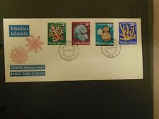 TOKELAU 1973 CORAL FIRST DAY COVER