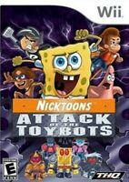 Nicktoons: Attack of the Toybots - Nintendo  Wii Game Only