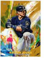 Keston Hiura 2020 Topps Inception 5x7 Gold #70 /10 Brewers