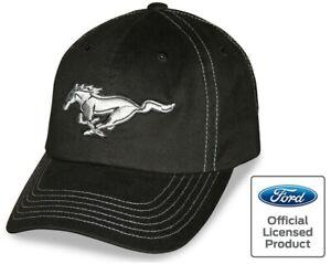 Mustang Cap Pony, schwarz lizenziert, Basecap, 2021 Pferd Kappe, Blitzversand