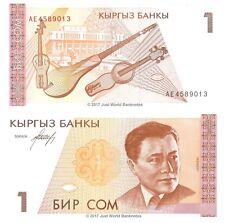 Kyrgyzstan 1 som 1994 P-7 billets UNC