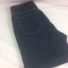 Ann Taylor Loft Jeans Size 6P Curvy Crop Dark Wash Ships Free