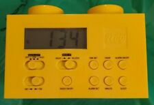 Lego Brick Alarm Clock Am/Fm Portable Radio