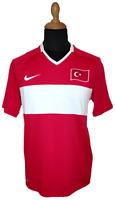 Turkey Jersey Nike 2008-10 M Red Shirt Soccer Football National Team 2010 Trikot