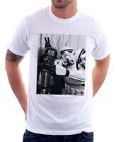 Star Wars StormTrooper  Darth Vader JEDI Selfie New York NY YODA  t-shirt 9773