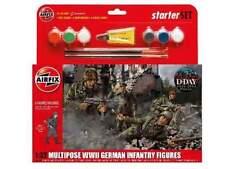Airfix Multi pose WWII German Infantry figures personaggi 1:32 art. a55210 KIT