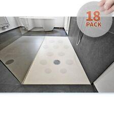 18Pcs Non-Slip Waterproof Stickers Round Bathtub Flooring Safety Tape Mat