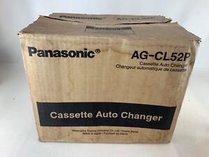 NEW PANASONIC AG-CL52P CASSETTE AUTO CHANGER