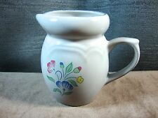 Floral Expressions Stoneware Creamer Made in Thailand