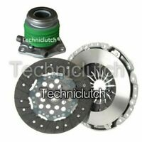 NATIONWIDE 2 PART CLUTCH KIT AND CSC FOR OPEL OMEGA B BERLINA 2.5 D
