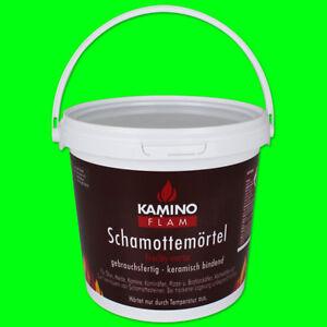 Schamottemörtel Schamotte Schamotten Mörtel Schamottmörtel Kamin Ofen 1kg 3kg