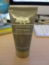buy upTo 3 Origins MINI small TRAVEL size PLANTSCRIPTION 1oz anti aging CLEANSER