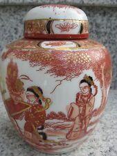 POT à THE Porcelaine Japonaise Décor Trés Chargé 13 cm
