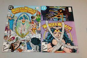 Wonder Woman 7 VF+ & 9 NM- 1987 1st Cameo & Full App Cheetah Minerva 1984 Movie