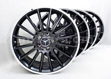 Mercedes Benz Genuine C-Class AMG W204 C320 C240 C230 R19 Black Alloy Wheels New