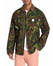 Ovadia & Sons Men's Camo Print Jacket MSRP $590