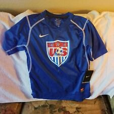 USA OLYMPIC SOCCER PERFORMANCE SHIRT - YOUTH SMALL - NIKE DRI-FIT - NWT