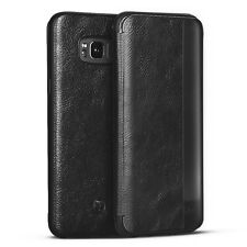 For Samsung Galaxy S8 Plus/S8 Leather Case Hybrid Shockproof Flip Hard Cover