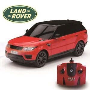 Red Land Rover Range Rover Sport Replica 1:24 Scale Remote Control Car Xmas Gift