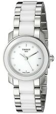 Tissot T-Trend Cera Diamond Stainless Steel Ceramic Watch Ladies T064210220160