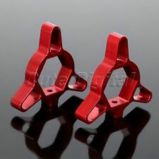 2x 19mm Motorcycle CNC Aluminum Fork Preload Adjusters Red for BMW F800GS G650X