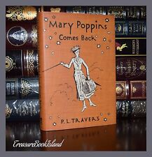Mary Poppins Comes Back By  Travers  Illustrated Collectible Hardcover Classics