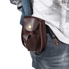 Catapult Slingshot Ammo Steel Balls Bearings PU Leather Waist Bag Pouch
