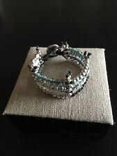 Uno De 50 Multi Strand Beaded Bracelet - Kanication - Gorgeous !! - NWT