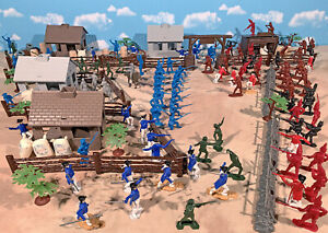 American Revolution Playset #1 - The Early Years - 54mm Plastic Toy Soldiers