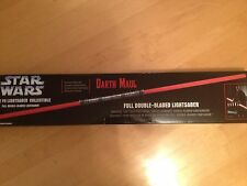 Star Wars Master Replicas Darth Maul SIGNATURE EDITION FORCE FX Lightsaber MIB!