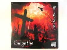 WASP GOLGOTHA LP 2015 LIMITED EDITION IMPORT (2) LP GATE FOLD BLACKIE LAWLESS