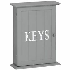 Hill Interiors Grey Key Box Wall Mounted or Freestanding