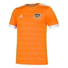 Houston Dynamo MLS Adidas Youth Orange Official Climalite Team Replica Jersey