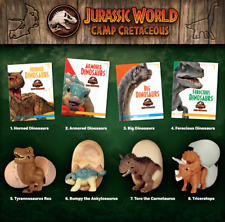 2020 McDonald'S Jurassic World Camp Cretaceous Happy Meal Toys Choose Your Toy