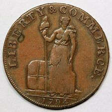 1794 Talbot Alum & Lee Cent Colonial Copper Coin