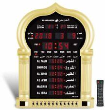 Al Harameen Special LARGE Digital Azan Mosque Clock with Remote Control- HA-5115