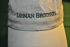 LEHMAN BROTHERS ~ SPORTS CAP ~ VINTAGE LOOK / BOGO SALE!