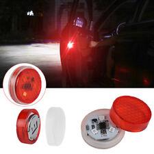 2PCS Universal Car Door LED Opened Warning Flash Light Kit Wireless Anti-collid