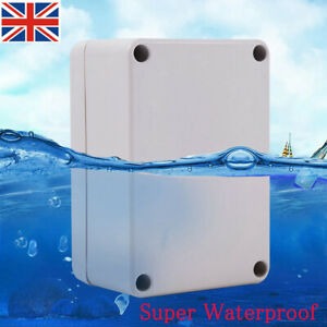 Outdoor Waterproof Junction Box Enclosure Terminal Electric Cable Connector UK