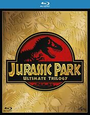 JURASSIC PARK ULTIMATE TRILOGY [Blu-ray Box Set] Complete Movie Collection 1 2 3