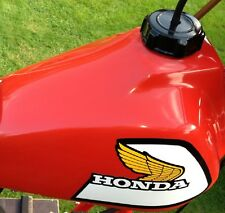 VINTAGE MOTOCROSS 1981 Honda CR450R Elsinore tank wings CR 450 R RC Works AHRMA