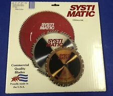 "12"" Systimatic Plastic and Trim Saw Blade PT# 37297 ~ 60 Teeth ~ 0.095 Width"