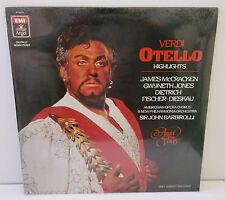 AV-34078 Verdi Otello Highlights McKracken Jones Fischer-Dieskau Sealed