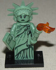 LEGO NEW SERIES 6 STATUE OF LIBERTY LADY MINIFIGURE MINIFIG 8827