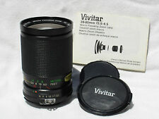 NIKON AI-S fit VIVITAR RL Edition 28-80mm F 3.5-4.5 lens. Macro focusing zoom MC