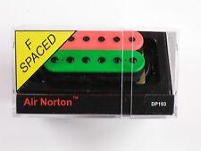 DiMarzio F-spaced Air Norton Humbucker Green/Pink W/Black Poles DP 193